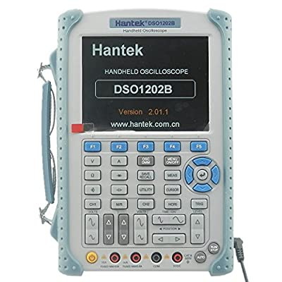 Hantek DSO1202B Digital Handheld Oscilloscope Multimeter 200MHz 1Gsa/S 2CH USB