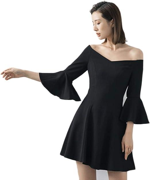 Trajes con falda Vestido Verano Nuevo Sexy Sin Tirantes Vestido ...