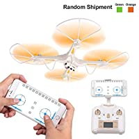 RC Quadcopter Drone, Rolytoy FPV Remove Control Drone Toys