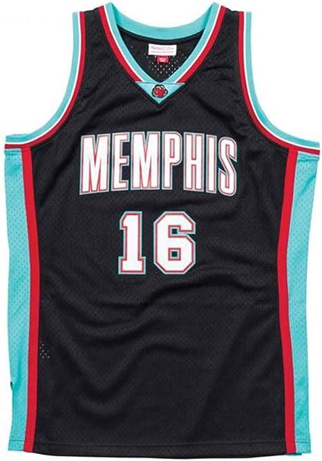 Color : Black, Size : XXL LDFN Jersey Baloncesto PAU Gasol # 9 Baloncesto Jersey C/ómodo Y Transpirable Bordado Deportes Camiseta Sin Mangas S-XXL