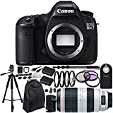 Canon EOS 5DS R Digital SLR Body with EF 100-400mm f/4.5-5.6L IS II USM Lens 20PC Accessory Kit. Includes 3PC Filter Kit (UV-CPL-FLD) + 4PC Macro Filter Set (+1,+2,+4,+10) + 2 Replacement LP-E6 Batteries + AC/DC Rapid Home & Travel Charger + MORE - International Version (No Warranty)