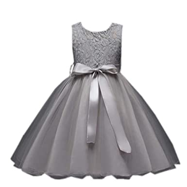 5cad5c0d0 Amazon.com  Cute Kids Girls Dress Baby Girl Party Wedding Formal ...