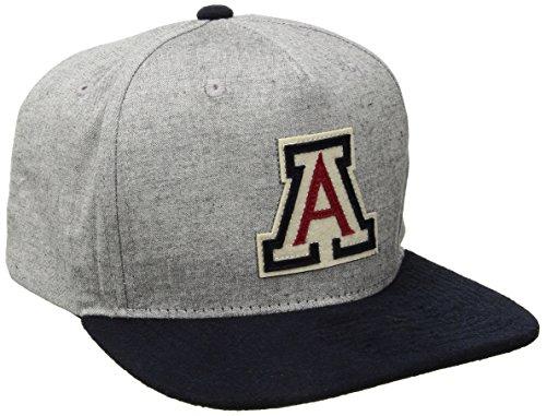 NCAA Auburn Tigers Men's Boulevard Snapback Cap, Suit/Navy, Adjustable