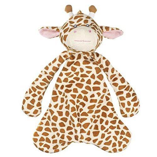 - Jamie Giraffe Pacifier Clip Snuggle Cozy By Ganz (BG3336)