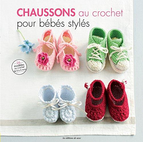 Chaussons au crochet pour bébés stylés   26 modèles à croquer .pdf  télécharger de Mika Natori 001d2a8b359