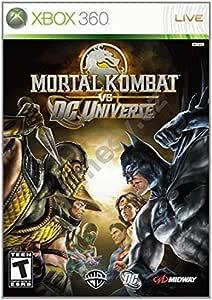 Warner Bros Mortal Kombat vs. DC Universe, Xbox 360 Xbox 360 vídeo ...