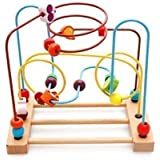 Kaylee & Ryan Circle Bead Maze Wooden Toys for Kids