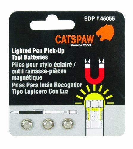 Mayhew Select 45055 Cats Paw Battery Pack for Lighted Pen Pick Up Tool by Mayhew