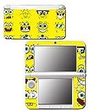 #9: Spongebob Squarepants Sponge Bob Patrick Faces Cartoon Video Game Vinyl Decal Skin Sticker Cover for Original Nintendo 3DS XL System