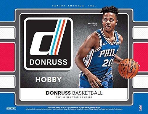 Mvp Autograph - 2017-18 Donruss Basketball Hobby Box (24 Packs/10 Cards: 1 Autograph OR 1 Memorabilia, 24 Inserts)