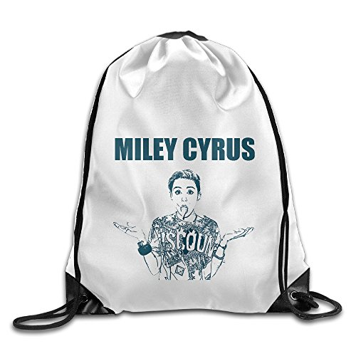 Playstation Home Star Wars Costumes (Bekey Miley Sexy Cyrus Gym Drawstring Backpack Bags For Men & Women For Home Travel Storage Use Gym Traveling Shopping Sport Yoga Running)