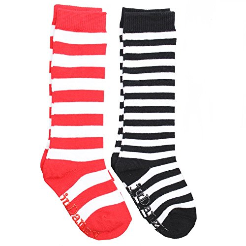 juDanzy knee high tall socks with grips for babies, toddlers, and children