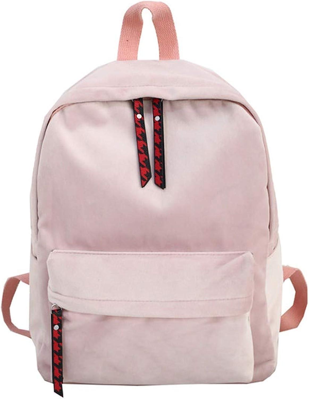 Soft Suede Women Backpack Bag Girls New Wine Red Shoulder School Bags Travel Back Bags Mochilas
