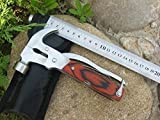BXT Stainless Multi-function Camping Claw Hammer Set with Sheath