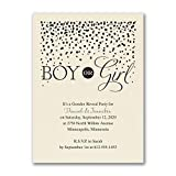 200pk Boy or Girl - Baby Shower Invitation - Ecru-Baby Shower Invitations