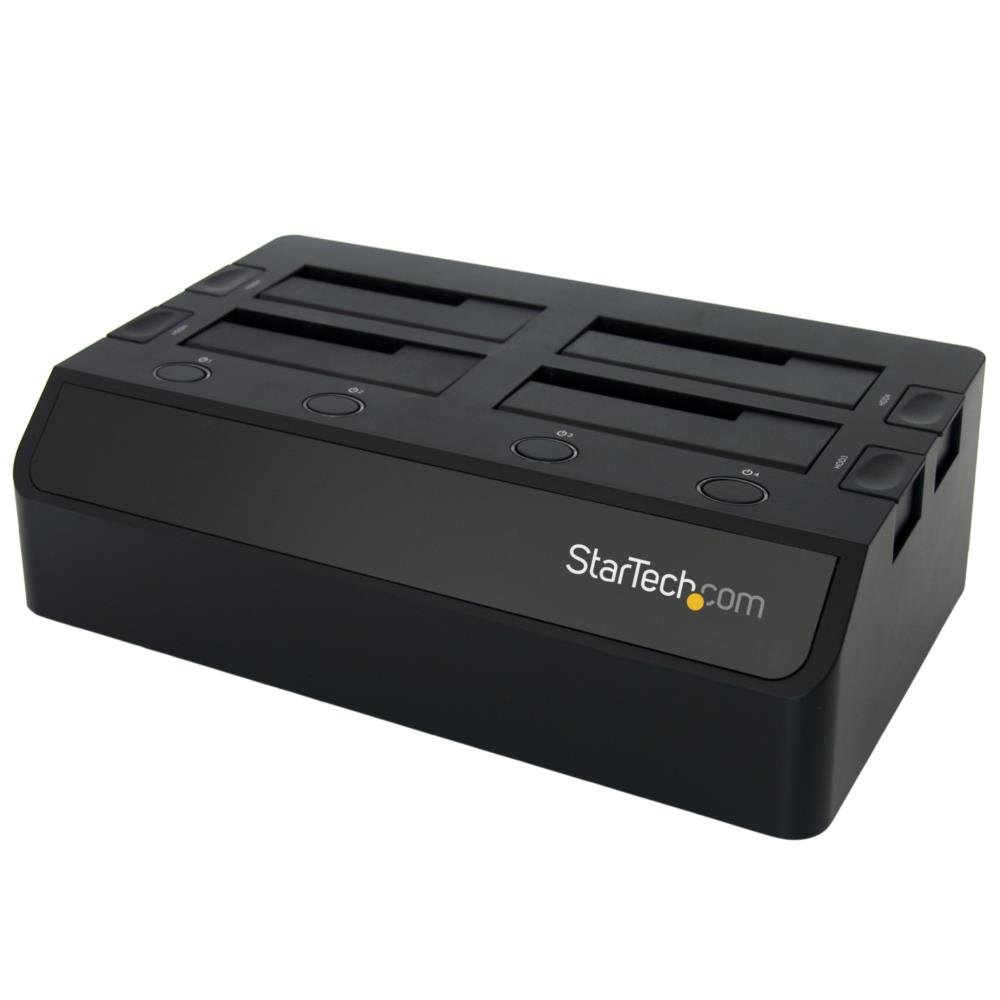 StarTech.com 4-Bay USB 3.0 Hard Drive Docking Station with UASP and Dual Fans (SDOCK4U33) by StarTech