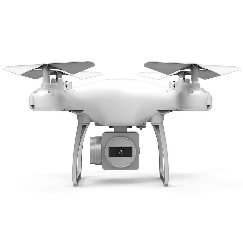 WQGNMJZ Drohne, Ferndrohne, Quadcopter, Luftbildflugzeuge, SH4 20 Minuten Akkulaufzeit RC Flugzeug WiFi Echtzeitübertragung Quadcopter,Weiß