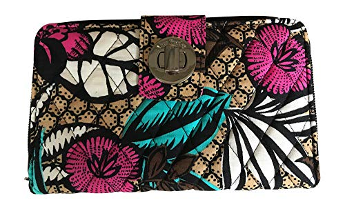 Vera Bradley Turnlock Wallet, Canyon Road