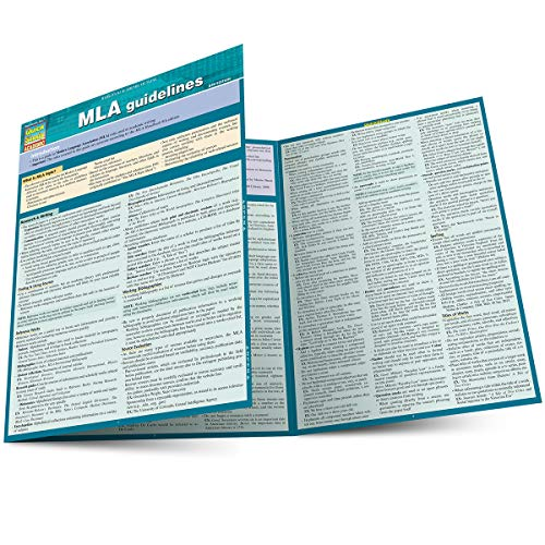 Mla Guidelines (Quick Study Academic) (Mla Style Manual And Guide To Scholarly Publishing)