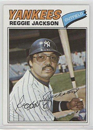 Reggie Jackson (Baseball Card) 1977 Topps Burger King - New York Yankees #17