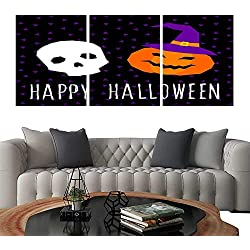 "Prints Wall Art PaintingsHappy halloween card template Abstract halloween pattern for design card party invitation poster album menu t shirt bag print etc 10. Customizable Wall Stickers 24""x36""x3"