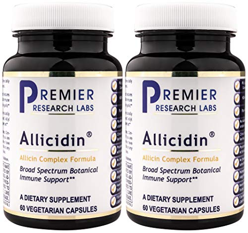 (PREMIER RESEARCH LABS Allicidin - Supports Both Immune and Cardiovascular Health (60 Capsules), 2 Pack)