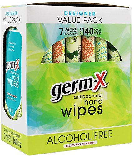 Germ X Antibacterial Hand Wipes Designer
