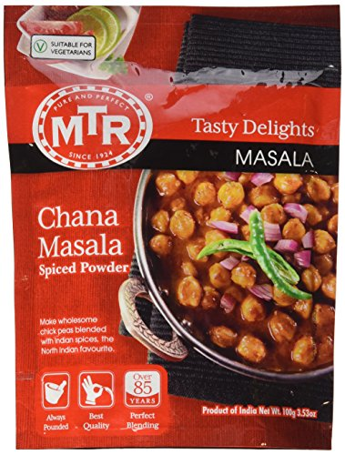 MTR Chana Masala (Spice Powder) - 3.52oz (Best Chana Masala Powder)