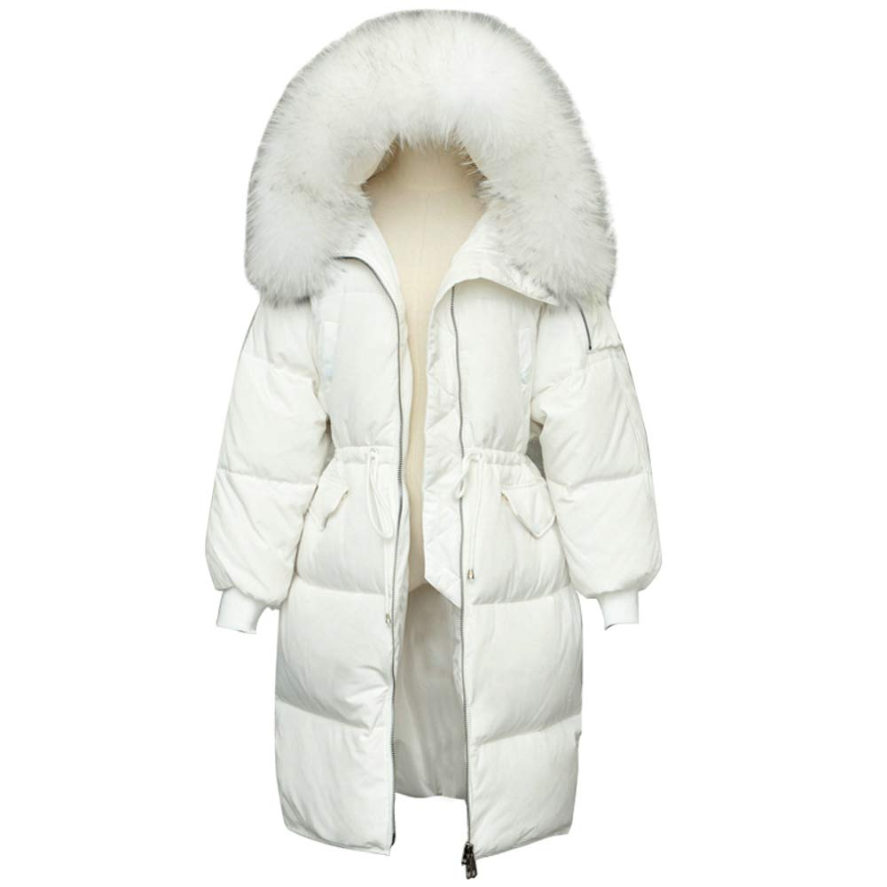 Big Fur Collar Thick Ladies Down Jacket Women Coat