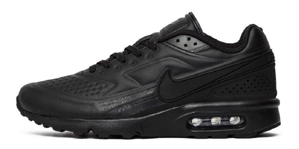 Nike 858966-001 Air Max BW Ultra SE Premium Prm Triple Black Pack Sneaker Schwarz  46 EU|Schwarz