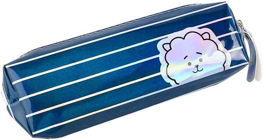 Bestomrogh KPOP BTS - Estuche con diseño de rayas, con lápiz, diseño de rayas, color RJ: Amazon.es: Oficina y papelería
