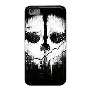 Eco-friendly Packaging phone cover skin Durable Iphone Cases Excellent Fitted iphone 4 4s - call of duty ghosts logo