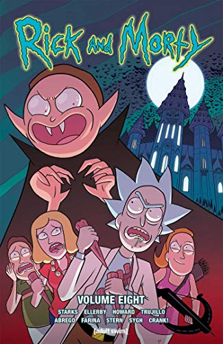 Book cover from Rick and Morty Vol. 8 by Kyle Starks
