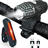 BIKE FORCE, Powerful,Four Modes, Bicycle Light, Camping Light,Outdoors Light,Bicycle Headlight,Free Tail Light, USB Rechargeable, Waterproof, Includes mounting Accessories, Safe and Easy to Install Review