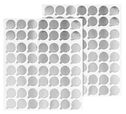 150pcs Eyelash Extension Adhesive Glue Stickers for Pallet or Jade Stone Application of Temporary False Lashes