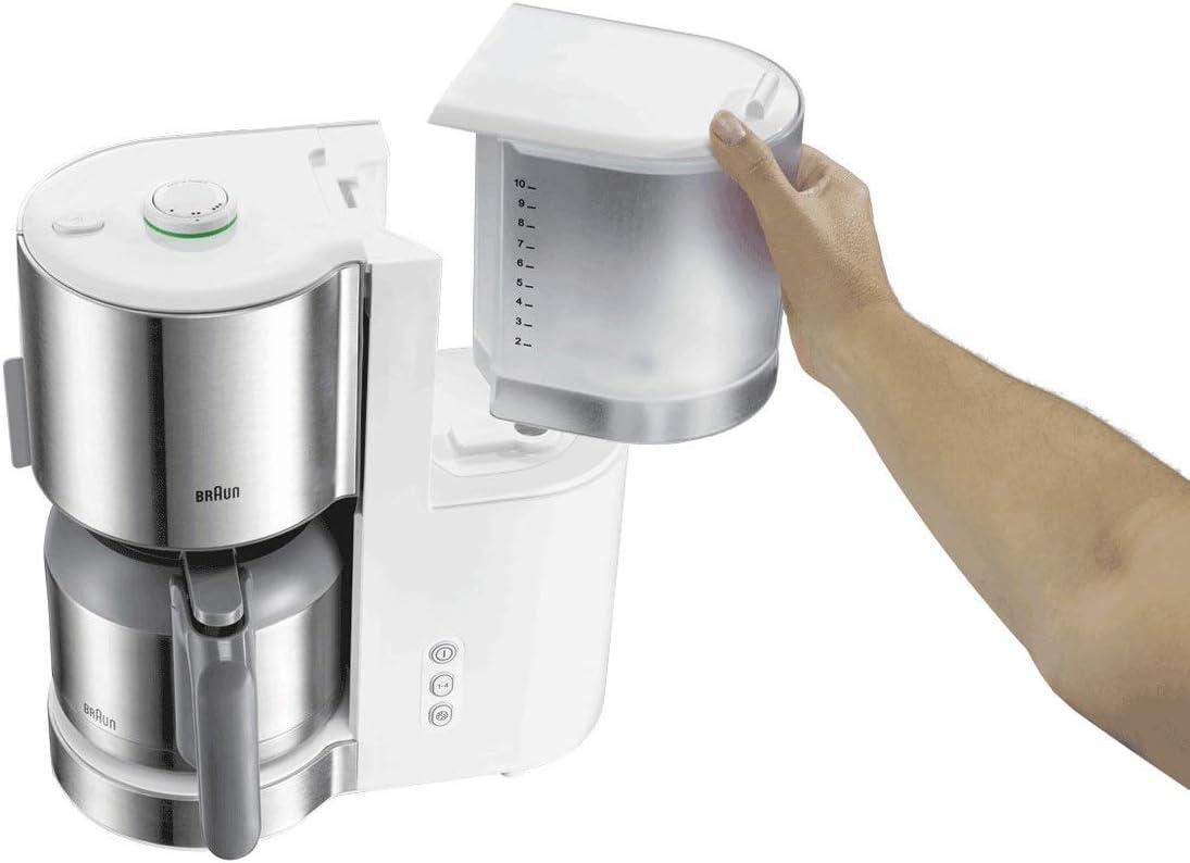 Braun Household IDCollection - Cafetera eléctrica Blanco: Amazon ...
