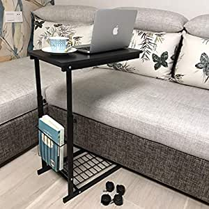 60x40x65cm Z shaped Bamboo Side Table Sofa Couch Coffee
