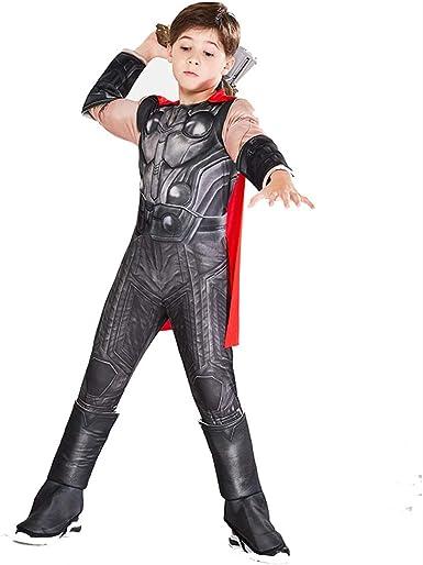Disfraz de Thor para niños Adultos Kit de Disfraz de Cosplay de ...