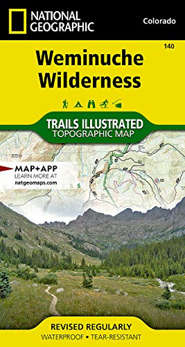 (Weminuche Wilderness (National Geographic Trails Illustrated Map))