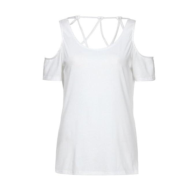 Blusas Para Mujer Rawdah Camiseta Para Mujer De Moda Fuera del Hombro Blusas De Mujer Sexy