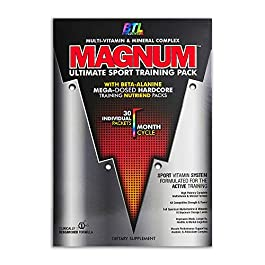 BTL – Magnum Multi Vitamins and Minerals Complex Mega Dosed Hardcore Training Nutriends Packs Joint Care Antioxidant and…
