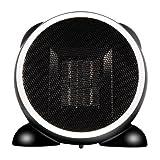 e-joy LEDmart Portable Fan/Space/Desktop Heater, Black, 500W
