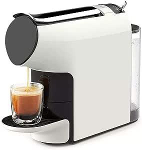 LIMEI-ZEN Cápsula del café Express de la máquina automática de extracción eléctrica Cafetera Italiana Tradicional Bar Barista Style (Color: Color de la Foto, tamaño: Tamaño Libre) Tomar un café
