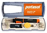 Portasol 011289250 Pro Piezo 75-Watt Heat Tool Kit with 7 Tips