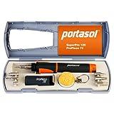 Portasol 011289250 Pro Piezo Kit de Herramientas para Soldar 75 W con 7 Puntas