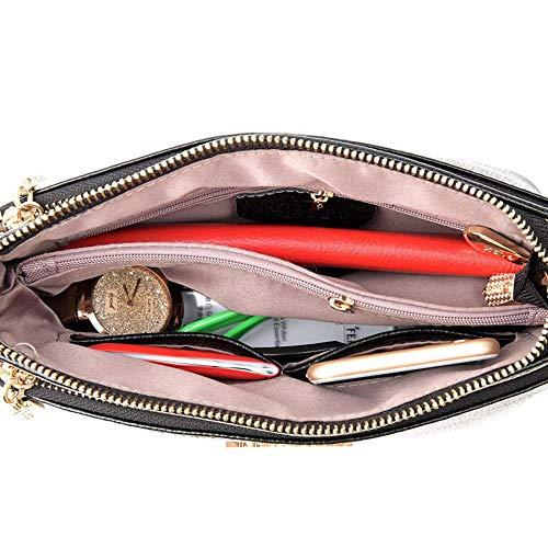 al única para Wine MANYYSI hombro talla Color Red Bolso Azul mujer Z6waOqaAx