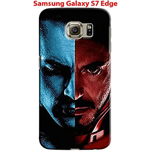 Captain America: Civil War & Characters for Samsung Galaxy S7 Edge Hard Case Cover (war11) Sales
