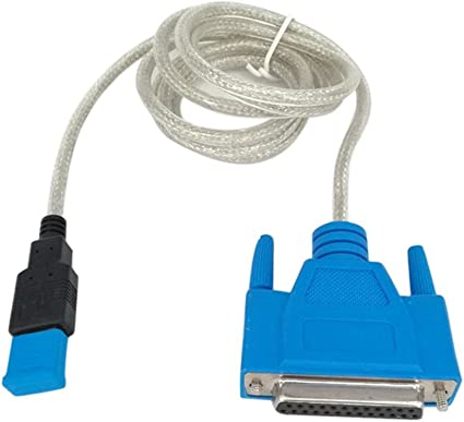Parallel DB25 1284 Printer 1.5m  Male to Female Cable