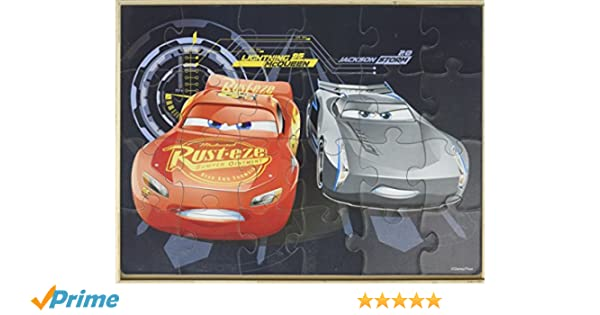 b57a1e8d9a0 Ravensburger 7808 Disney Cars 3 I Can Win 2 in A Box Puzzle 07808 24 Piece