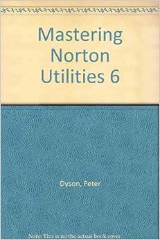 Understanding the Norton Utilities 6